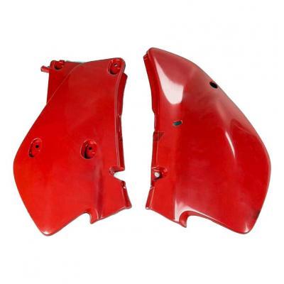 Plaques numéro latérales UFO Honda XR 650R 00-07 rouge