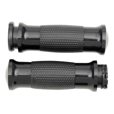 Poignées Avon gel grips tirage par câble Twin-Cam 99-17 noir