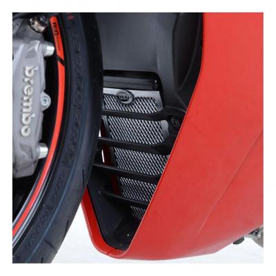 Protection de radiateur d'huile/eau R&G Racing noire Ducati Supersport 17-18