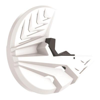 Protection disque avant + bas de fourche Polisport Husqvarna 250 FC 15-18 blanc
