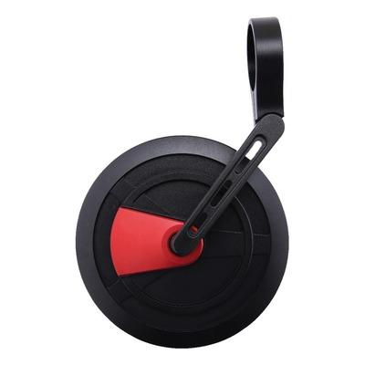 Rétroviseur d'embout de guidon Highsider Enterprise EP-1 noir/rouge