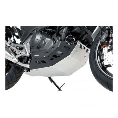 Sabot moteur SW-MOTECH noir / gris Honda NC700 / NC750 sans DCT