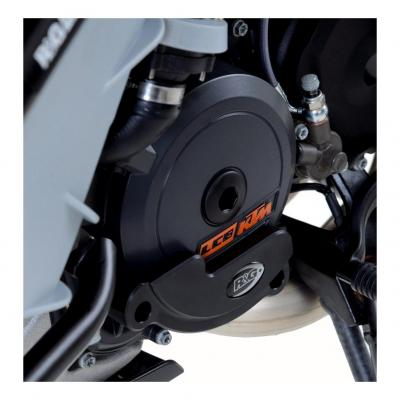 Slider moteur gauche R&G Racing noir KTM RC8 09-14
