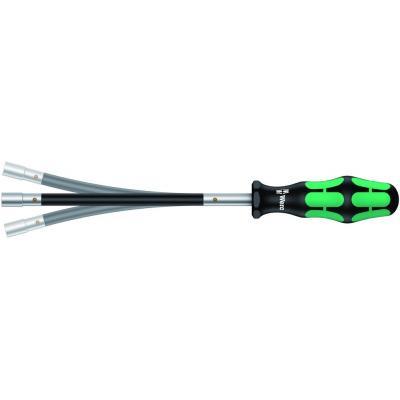 Tournevis à lame flexible Wera Kraftform Plus série 300 – douille 7mm