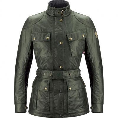 Veste textile femme Belstaff CLASSIC TROPHY LADY vert