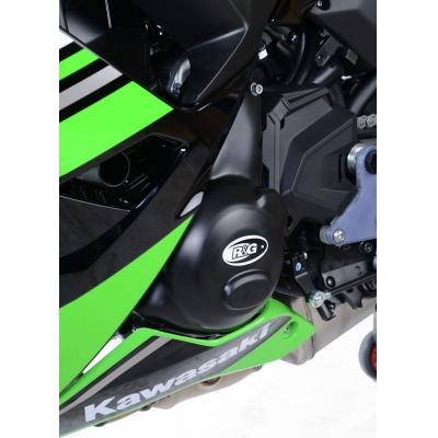 Couvre carter d'alternateur R&G Racing noir Kawasaki Z650 17-18