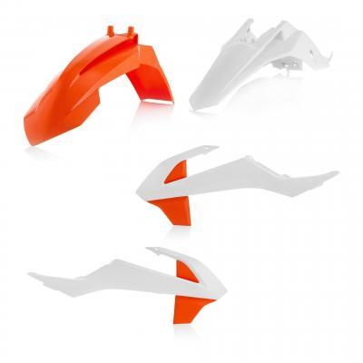 Kit plastique Acerbis KTM 65 SX 19-20 blanc2/orange2 (couleur origine 20)
