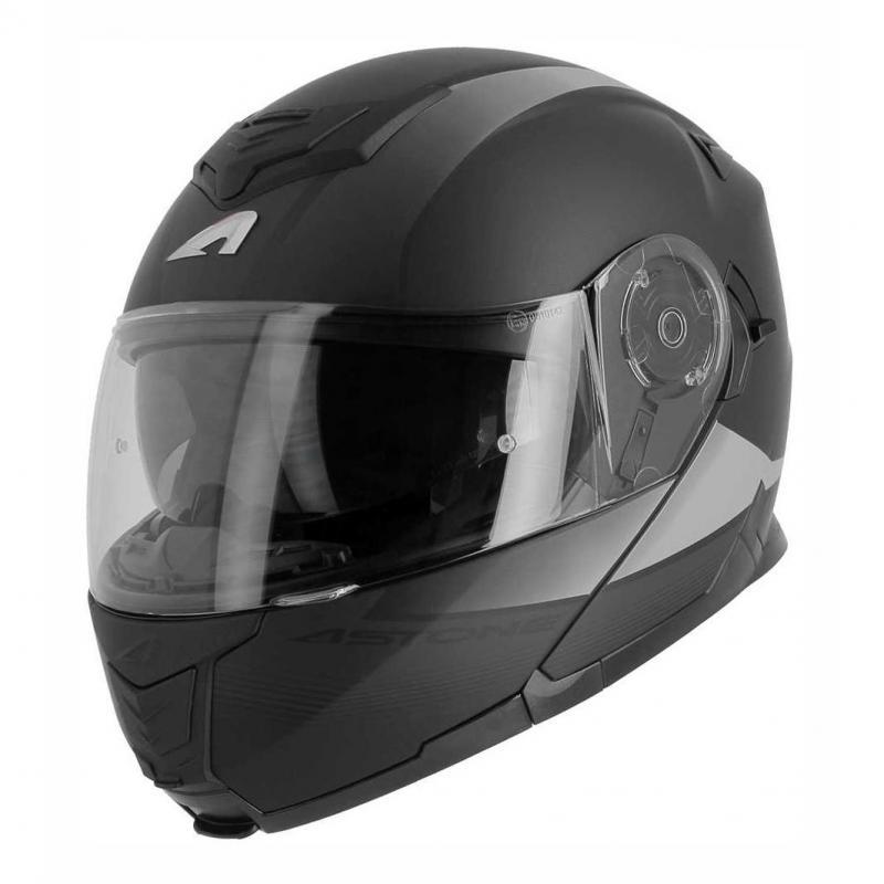 Casque modulable Astone RT 1200 VANGUARD noir/anthracite