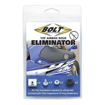 Kit de suppression Dzus Bolt pour cache boîte à air Yamaha 250 YZ-F 14-18