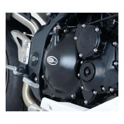 Couvre carter droit (embrayage) R&G Racing noir Honda CBR 600 F 11-13