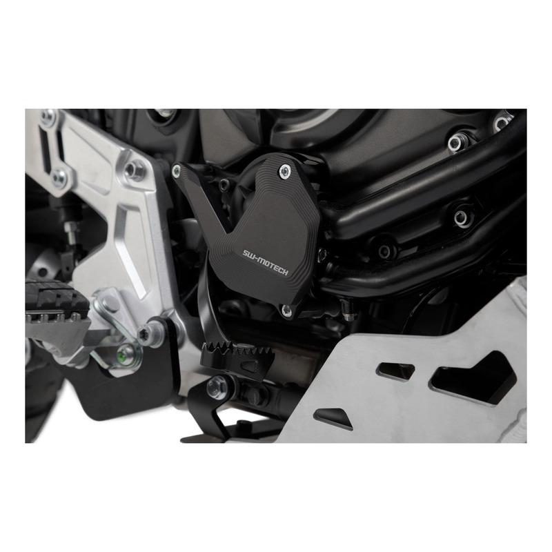 Protection de pompe à eau SW-Motech noire Yamaha Ténéré 700 18-20