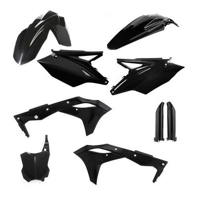 Kit plastiques complet Acerbis Kawasaki 250 KXF 2017 noir