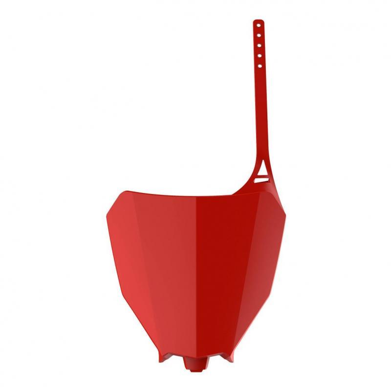 Plaque numéro frontale Polisport Honda CRF 450RX 17-20 rouge