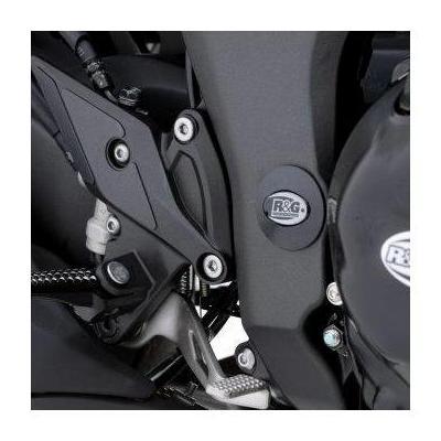 Insert de cadre droit R&G Racing noir Kawasaki ZX-10R 08-18