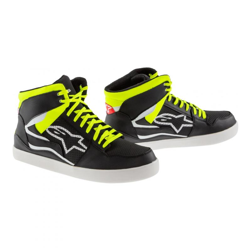Baskets Alpinestars STADIUM noir/jaune