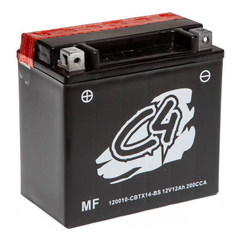 Batterie C4 CBTX14-BS 12V 12Ah