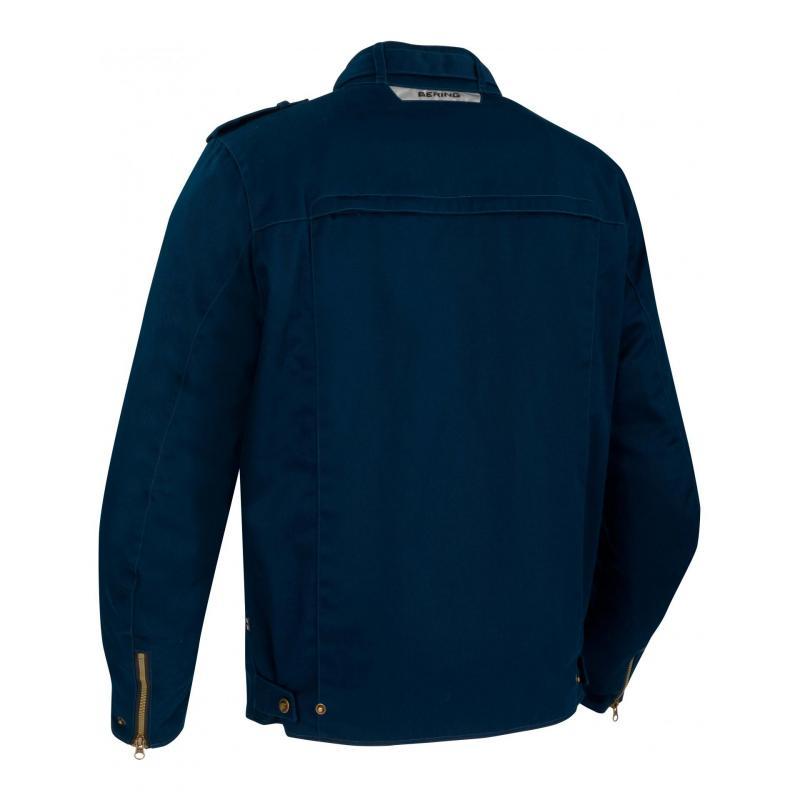 Blouson textile Bering Chuck bleu - 1