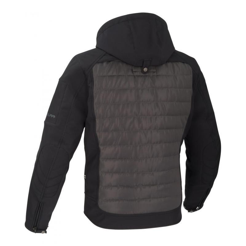 Blouson textile Segura Natcho noir/gris - 1