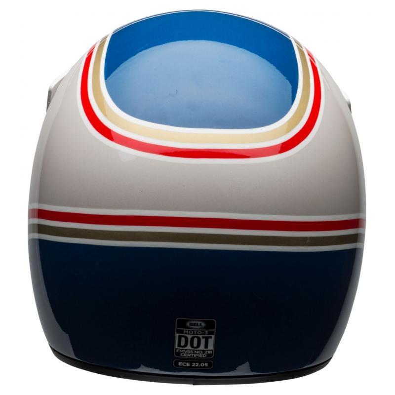 Casque Bell Moto 3 RSD Malibu bleu/blanc - 5