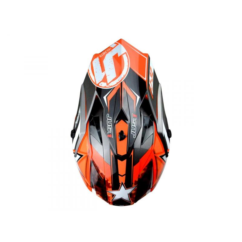Casque cross Just1 J32 Moto X Orange - 2