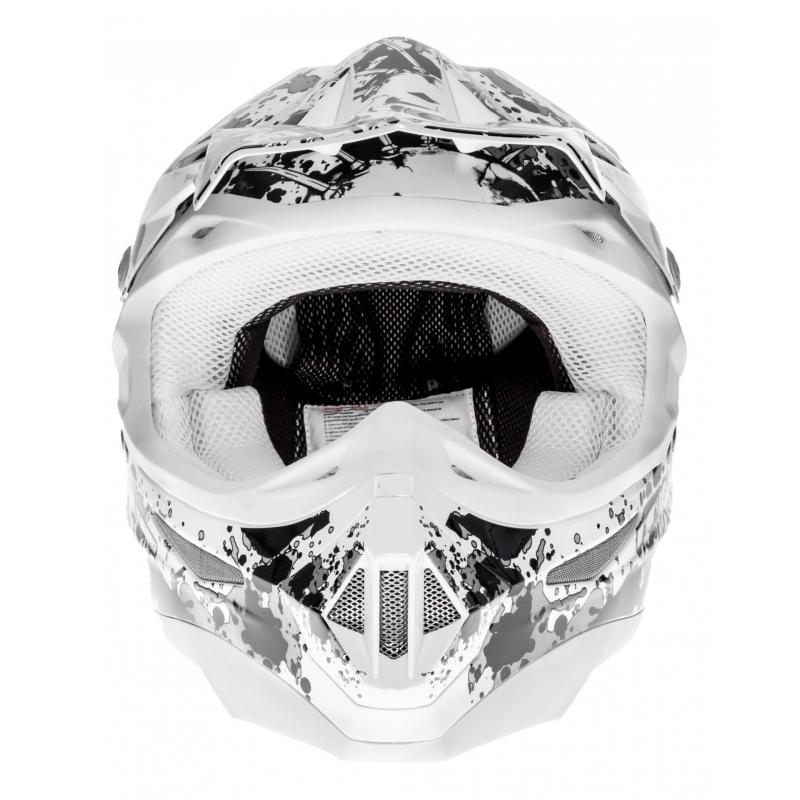 Casque cross TNT helmets dead head - 3