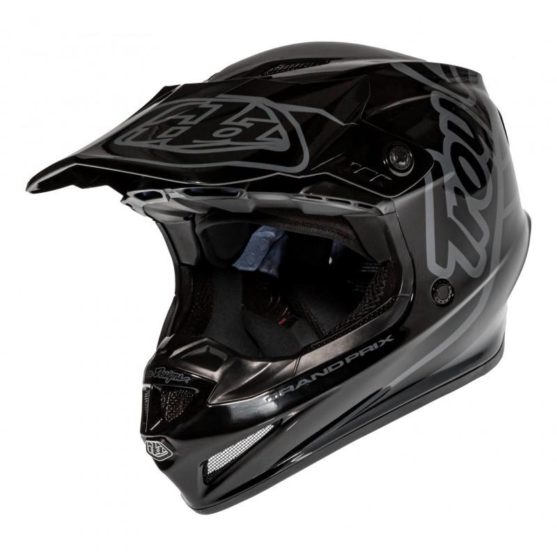 Casque cross Troy Lee Designs GP Silhouette noir/gris