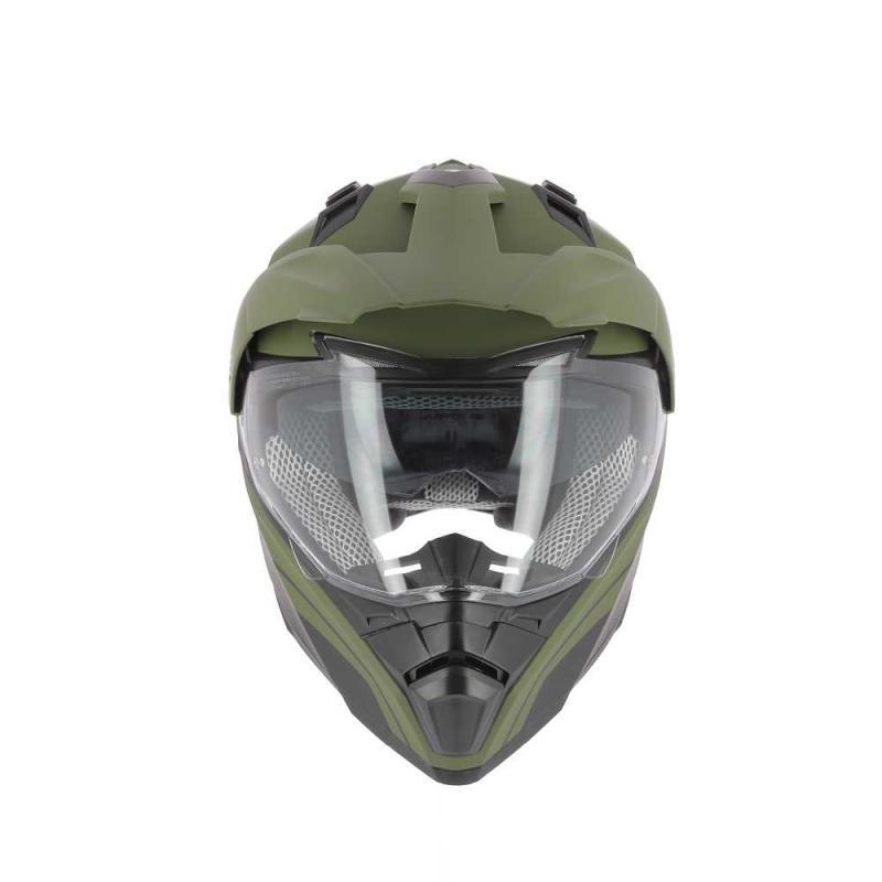 Casque Trail Astone Crossmax Shaft vert army mat - 1