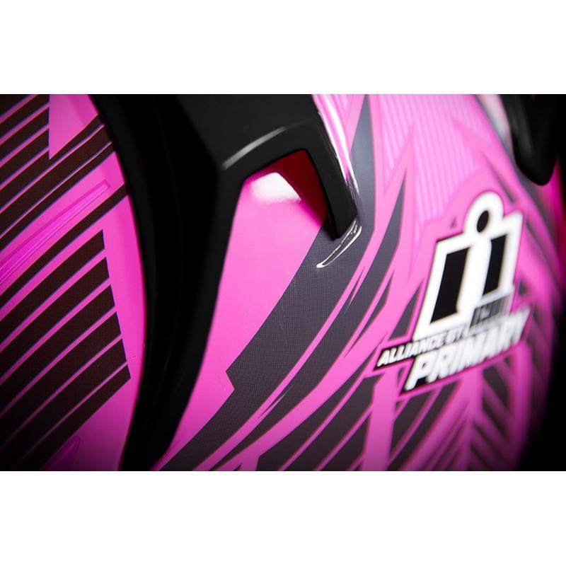 Casque intégral Icon Alliance GT Primary rose - 3