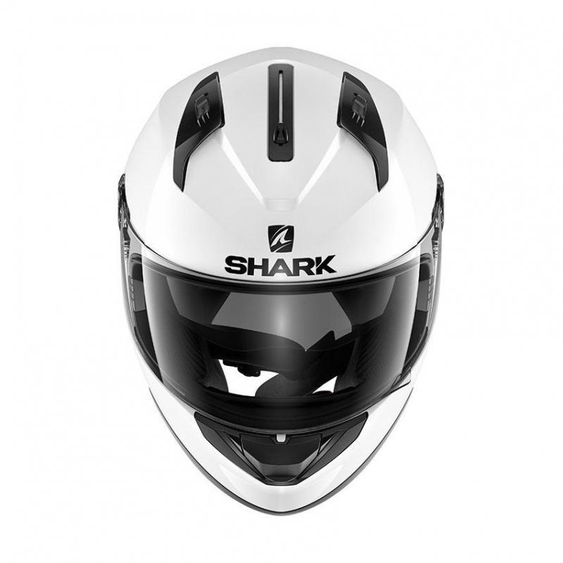 Casque intégral Shark RIDILL BLANK blanc - 2