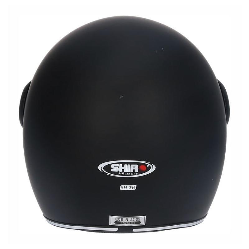 Shiro Casque jet sh235/Bullet Noir Taille XS