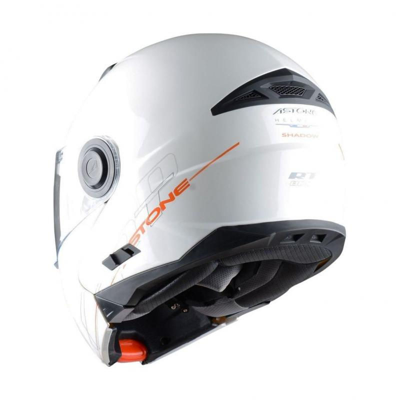 Casque Modulable Astone Rt800 Solid Exclusive blanc - 2