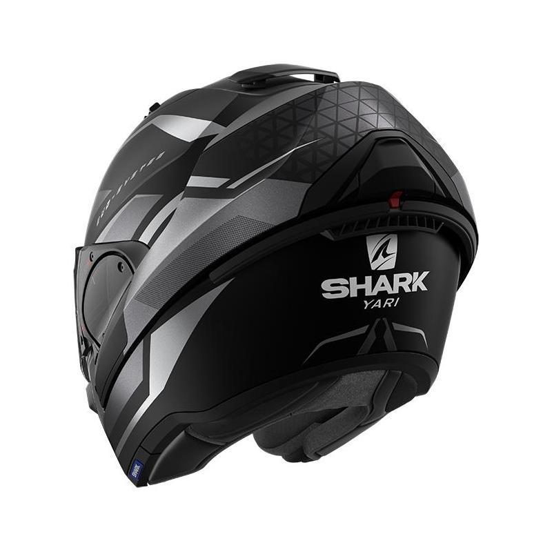 Casque modulable Shark EVO ES Yari Mat noir/anthracite/anthracite - 2
