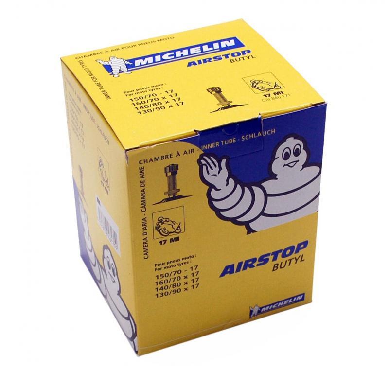 Chambre à air Michelin Street 130/90-17 valve droite TR4