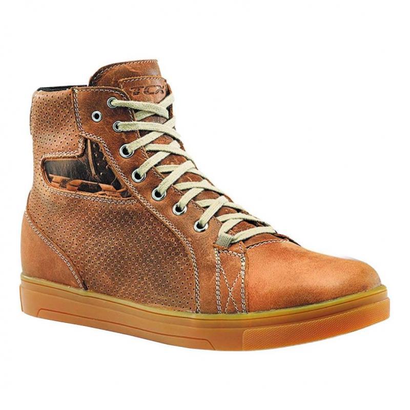 Chaussure cuir TCX Street Ace Air natice cuir marron - 1