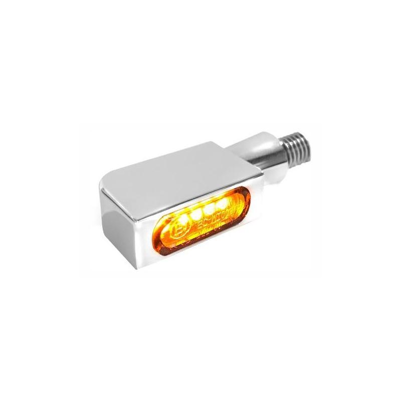 Clignotants LED Heinz Bikes Blokk-Line SMD Micro chromé