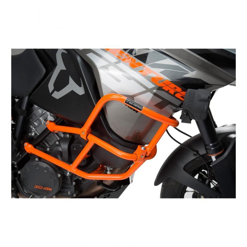 Crashbar supérieur orange SW-Motech KTM 1290 Adventure 17-19
