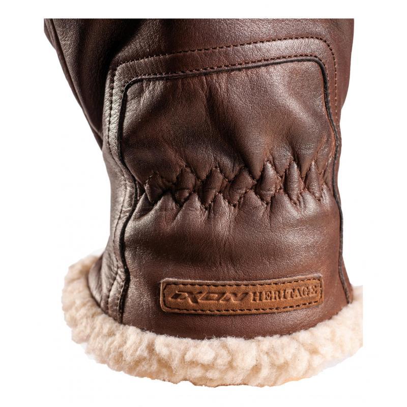 Gants cuir Ixon Pro Custom L marron - 2