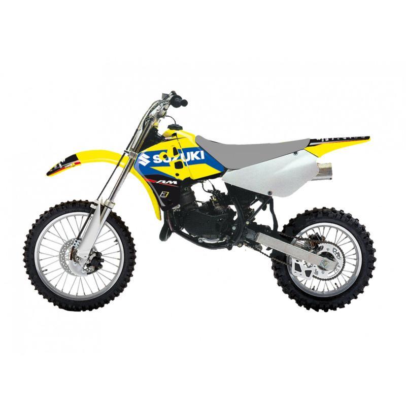 Kit déco Blackbird Racing Dream 4 Suzuki 250 RM-Z 10-18 jaune/bleu/noir