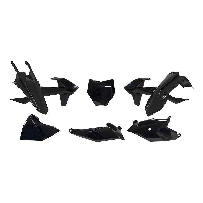 Kit plastique RTech KTM 85 SX 18-21 noir