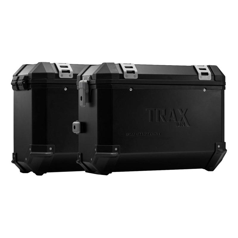 Kit valises SW-Motech Trax ION 37 litres noires support PRO Ducati Multistrada 1260 Enduro 18-20