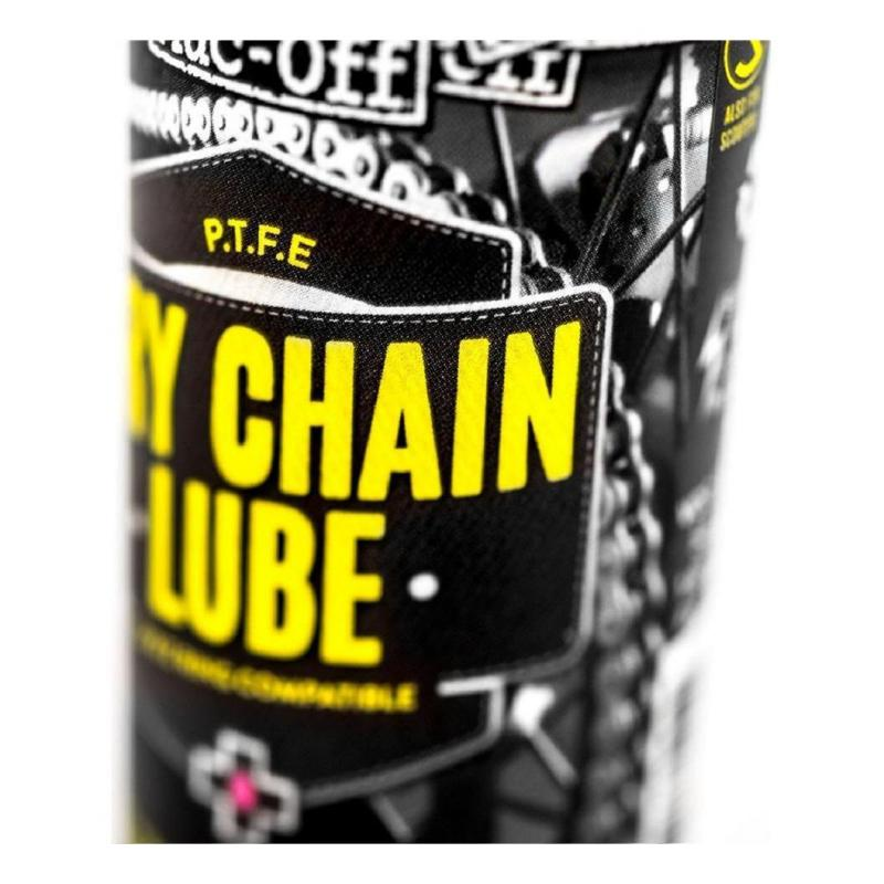 Lubrifiant spray chaîne Muc-Off Dry PTFE 50ml - 1