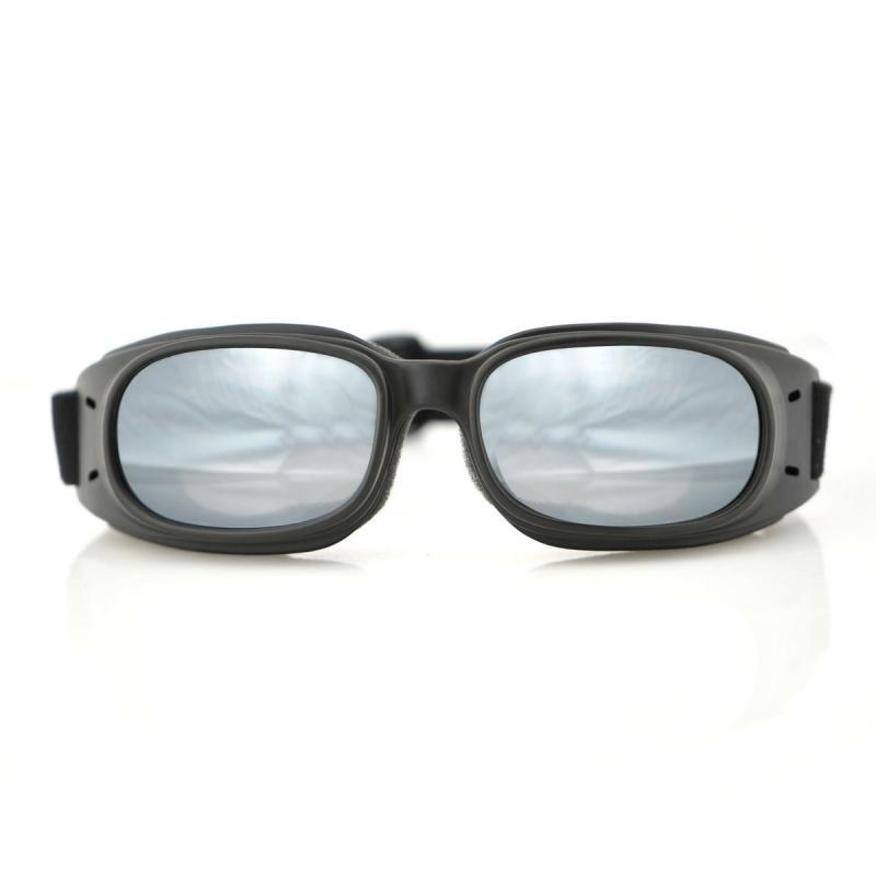 Lunettes Bobster Piston noir mat / fumé miroir - 2