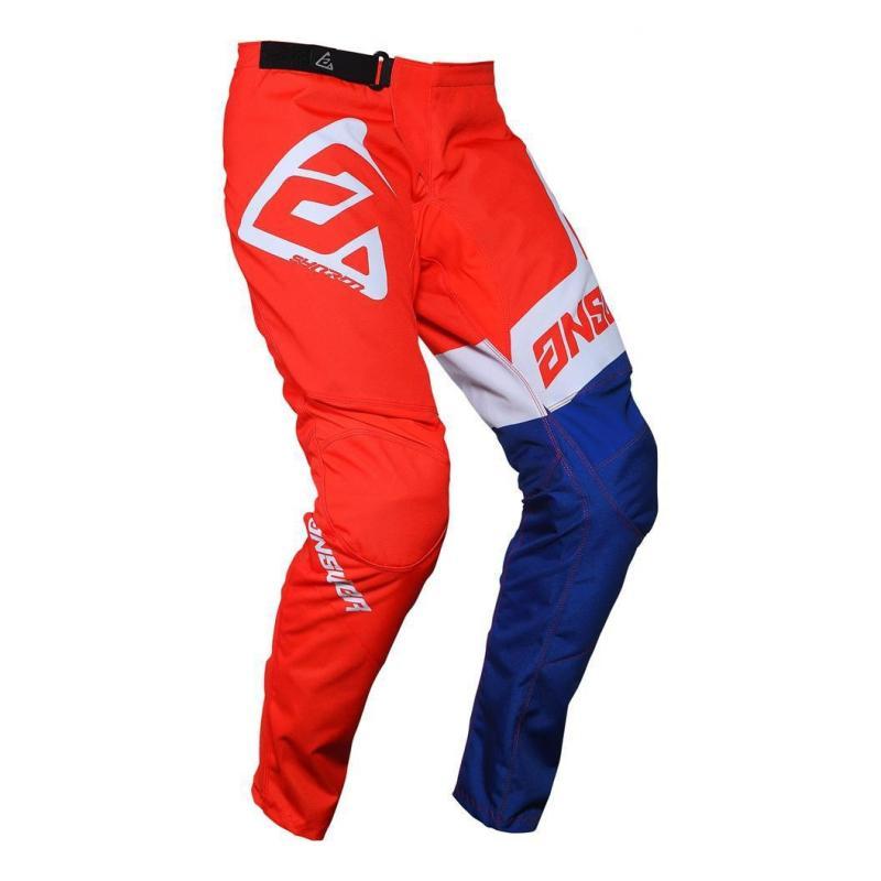 Pantalon cross Answer Syncro Voyd rouge/reflex/blanc - 2
