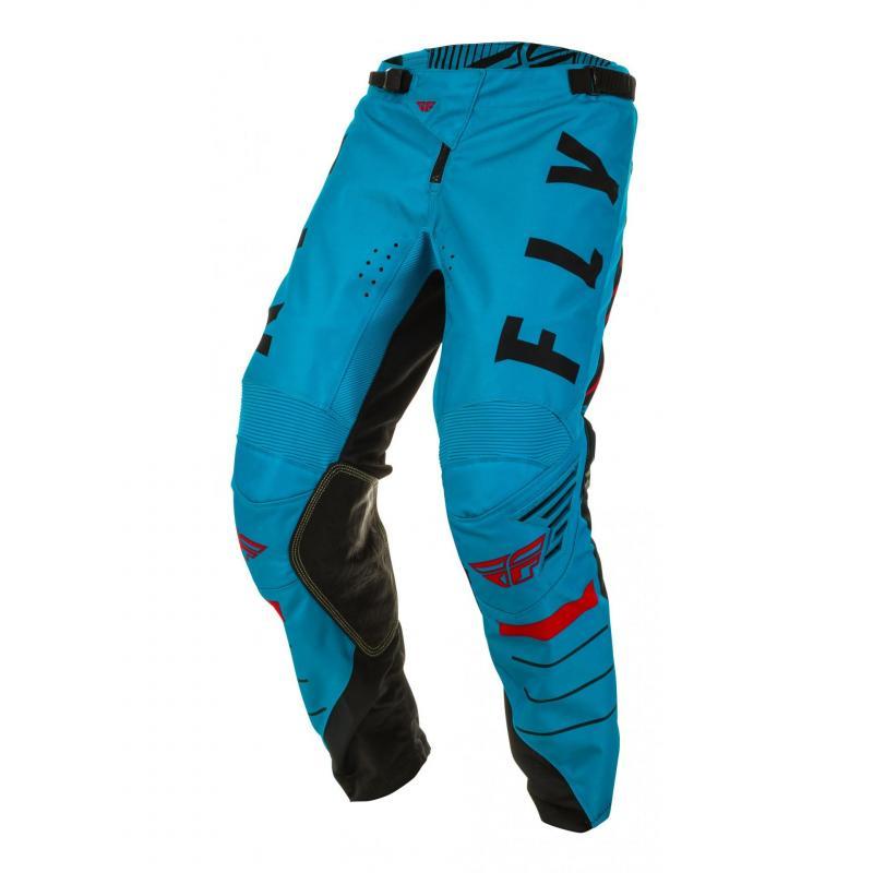 Pantalon cross enfant Fly Racing Kinetic K120 bleu/noir/rouge