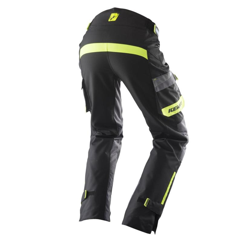 Pantalon enduro Kenny Évasion noir/gris/jaune fluo - 1