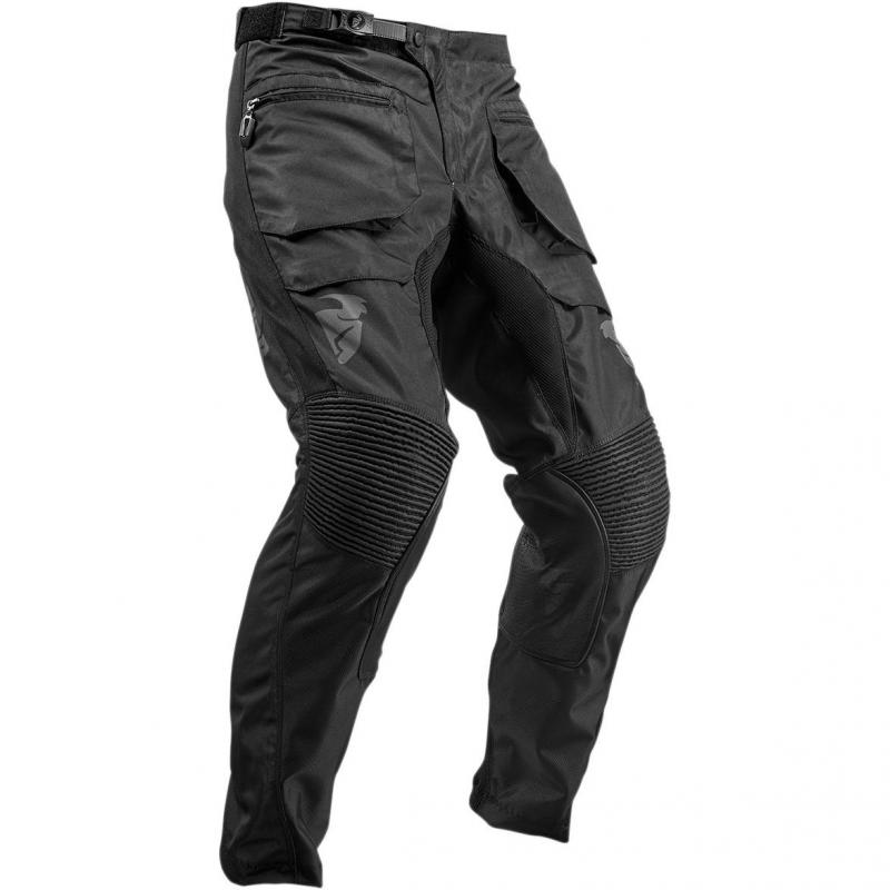 Pantalon enduro Thor Terrain noir - 2