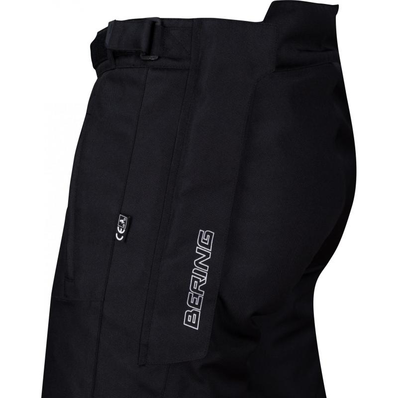 Pantalon textile Bering Bartone noir - 1