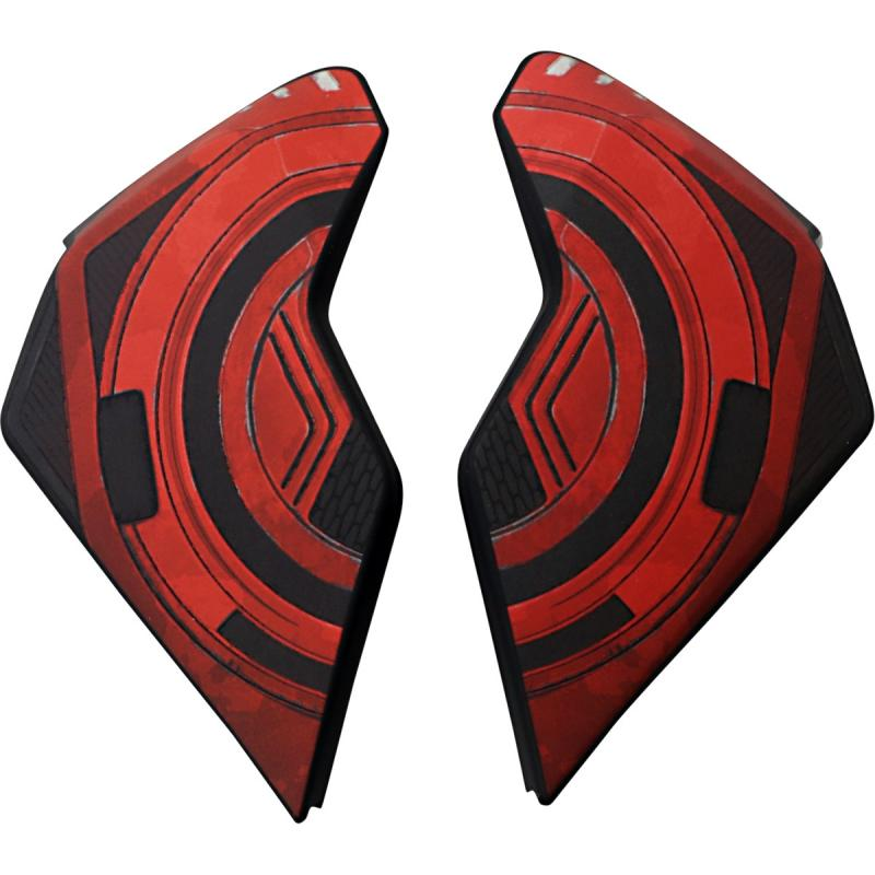 Plaques latérales Icon Airflite Blockchain rouge