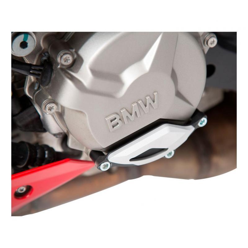 Protection de couvercle de carter moteur SW-MOTECH noir / gris BMW S1000R / RR / XR