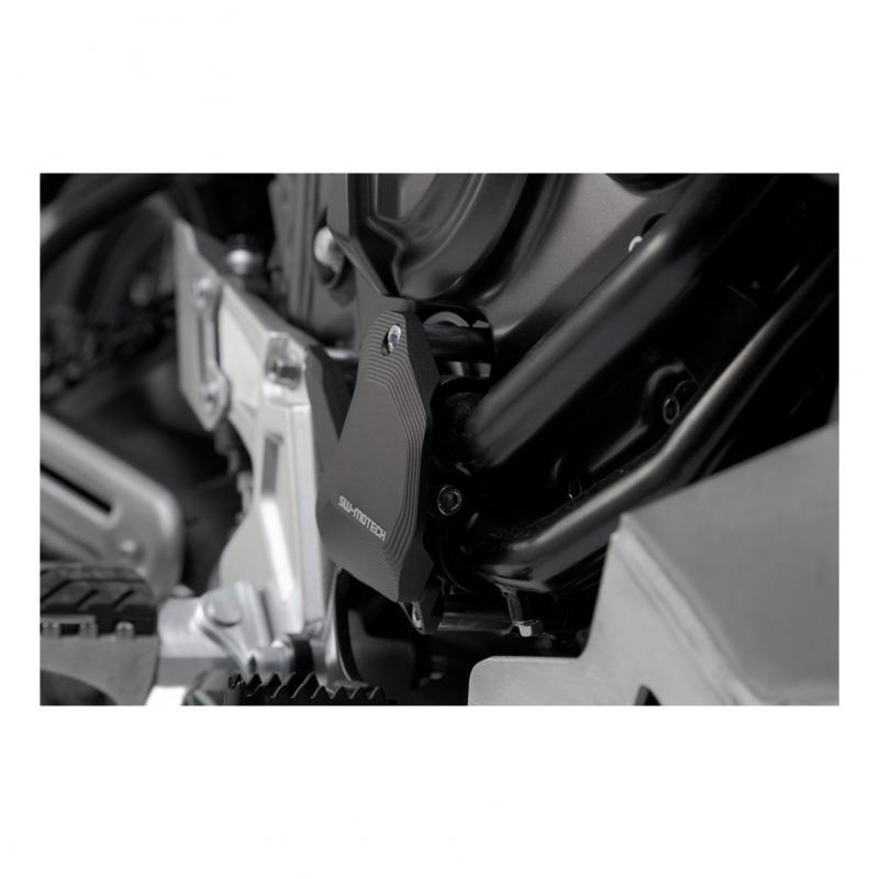 Protection de pompe à eau SW-Motech noire Yamaha Ténéré 700 18-20 - 2